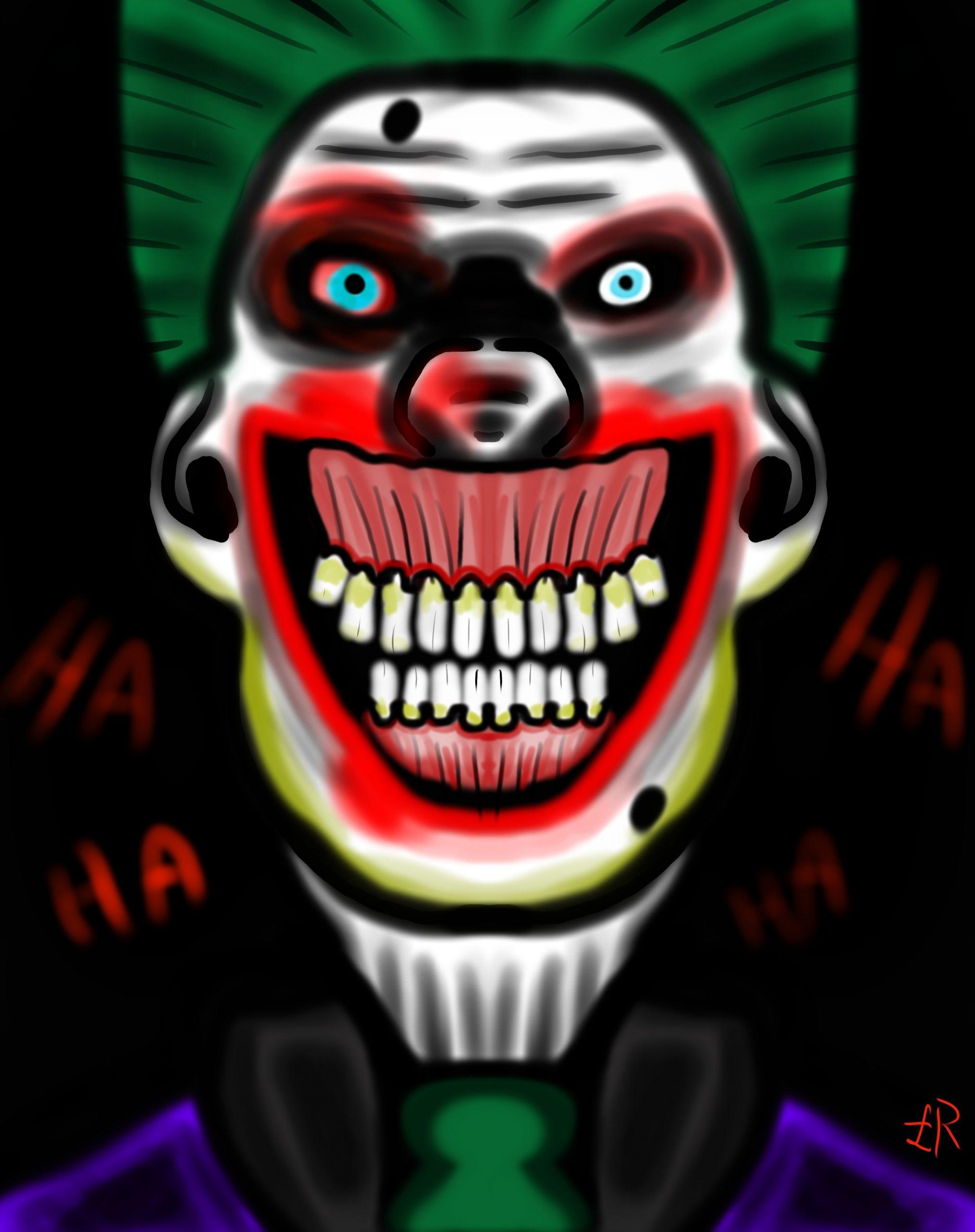 Joker creepy