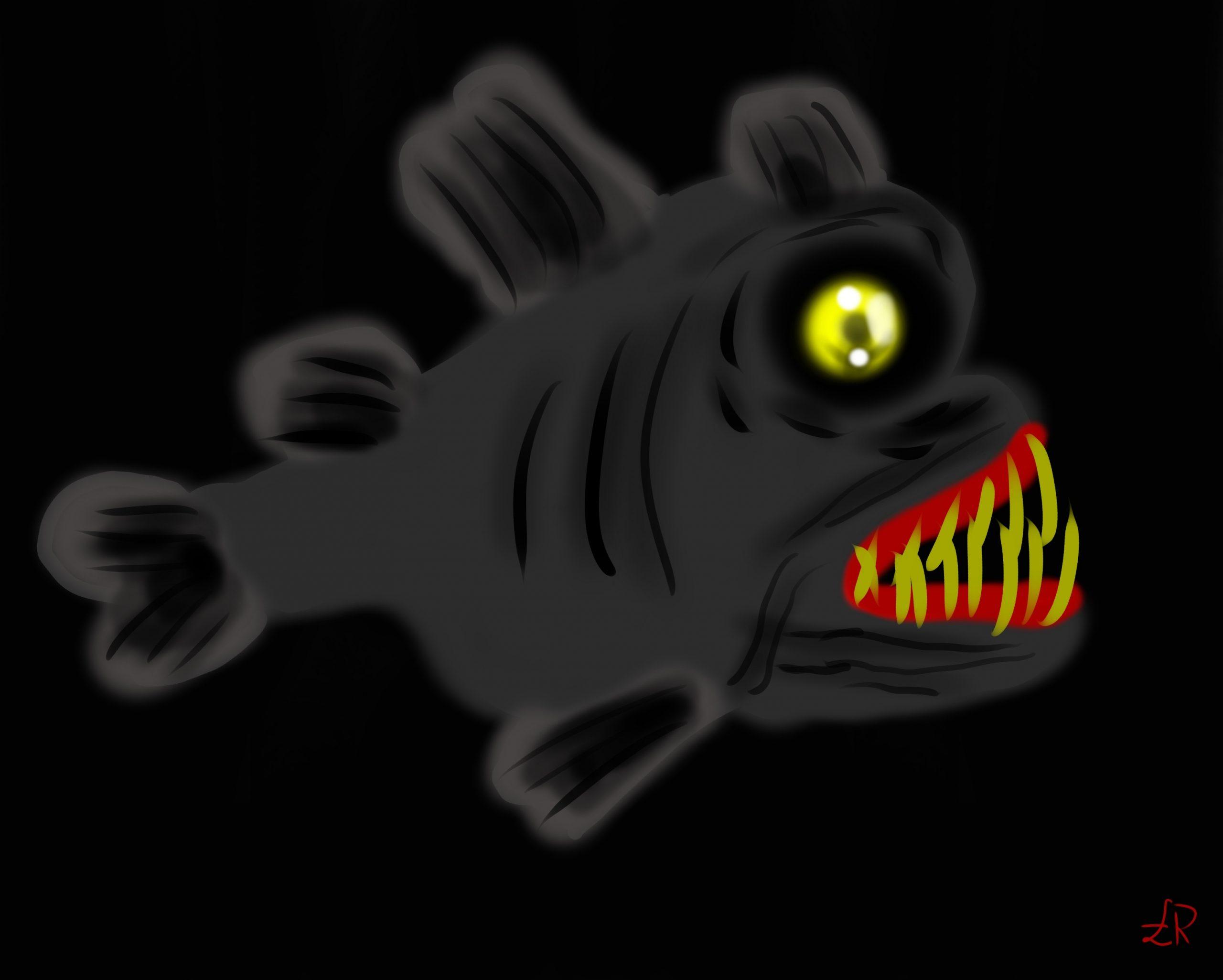 Creepy fish