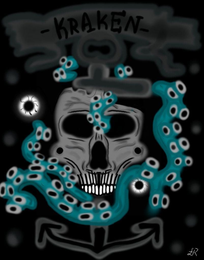 Kraken skull